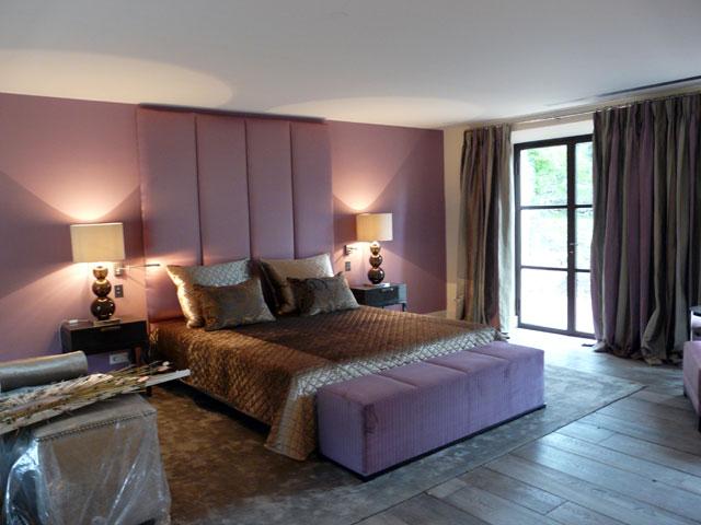 Paires de rideaux d'une villa à Cannes