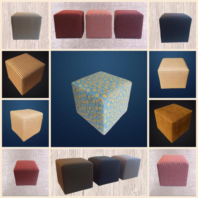 Poufs carrés